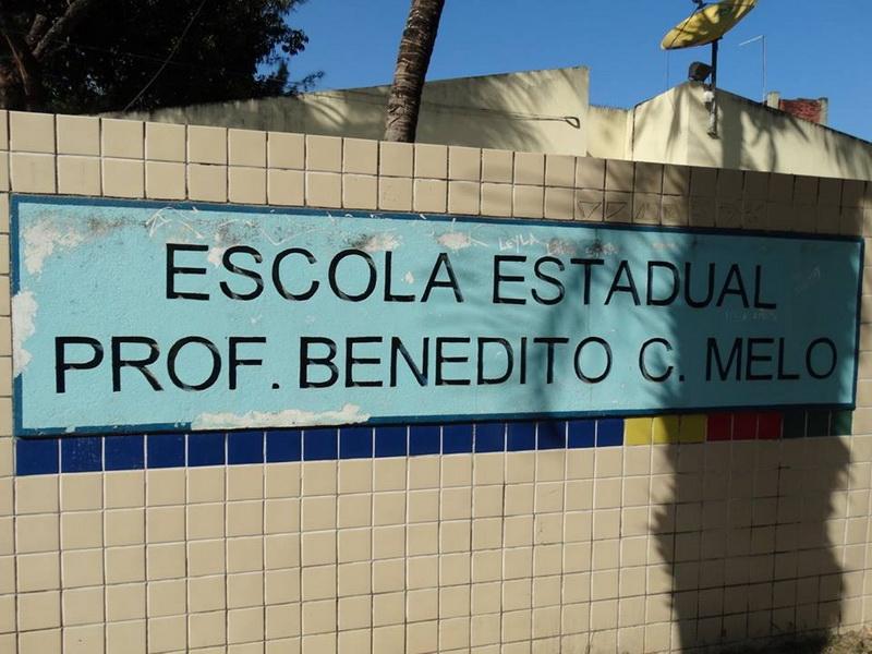 Escola Professor Benedito Cunha Melo, 29 de setembro de 2016.