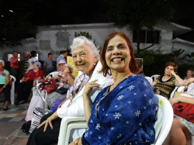 Myriam e Bernadete Bruto. UBE, dezembro de 2016