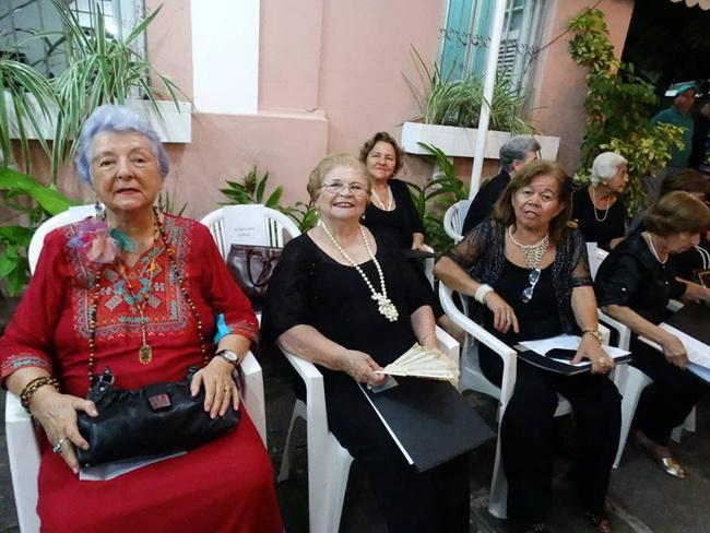 Myriam Brindeiro, Leda Santos, Nadje Andrade e Auzeh Auzerina Freitas