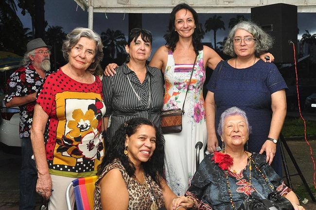 ALBERTO DA CUNHA MELO, PARA TODOS PARA SEMPRE. 75 ANOS. Sarau da celebração. Música e Poesia. Parque 13 de Maio, Recife, 8 de abril de 2017. Fotos de Assis Lima