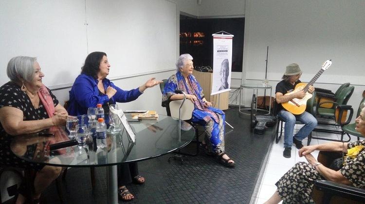 Cláudia Cordeiro, Myriam e Antonio Guedes. Recife, 25 de outubro de 2017
