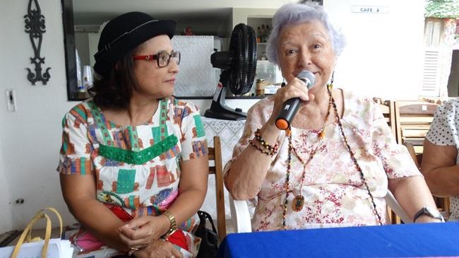 Myriam Brindeiro e Vera Nóbrega. Recife, outubro de 2019.